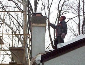 Stucco                 chimney cap