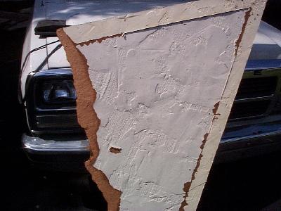 Masonite Fake Stucco